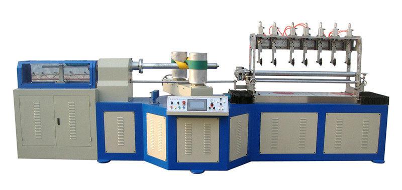 AUTOMATIC MULTI KNIFE PAPER TUBE MACHINE FOR SPIRAL TYPE JY-MC150