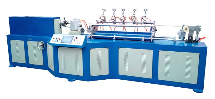 MC530 Multi Blades Paper Tube Machine for small size tubes